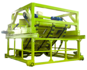 Chain plate compost turner machine