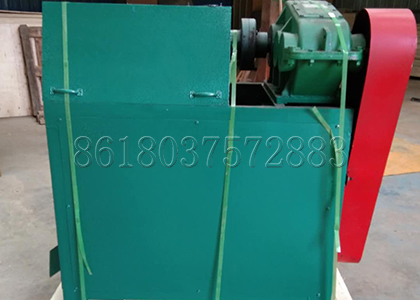 Double roller extrusion fertilizer granulation machine