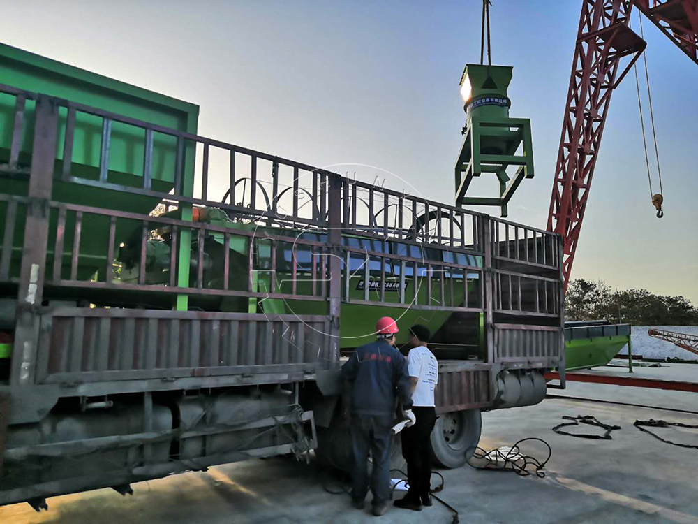 ShunXin fertilizer equipment delivery