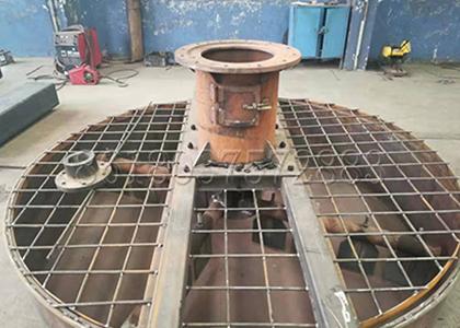 a making fertilizer disk mixing machine