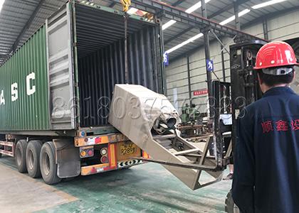 bucket elevator equipment delivery
