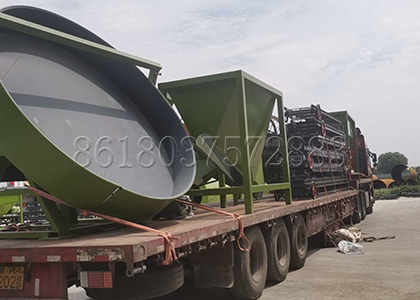 delivery of ShunXin fertilizer machines