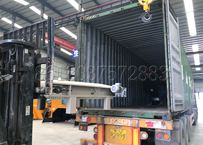 delivery of packing machine