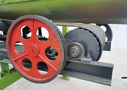 efficient motor part of ShunXin rotary screening machine