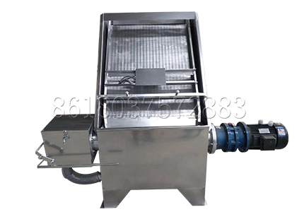 inclined sieve liquid-solid separating equipment