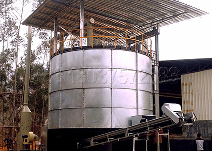 organic fertilizer large fermentation pot