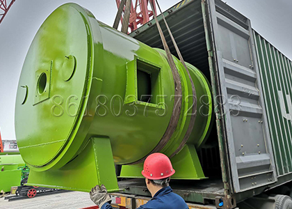 rotary drum granulator delivery