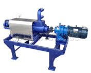 screw extrusion type solid-liquid separator machine
