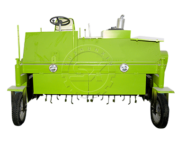 self-moving type compost turning machine