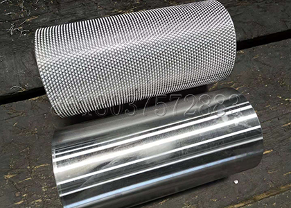 stainless steel roller sheets used for the granulator