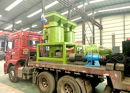 vertical fertilizer crushing machine delivery