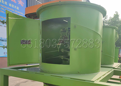 visible window design of the vertical fertilizer crusher