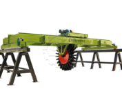 wheel type fertilizer compost turner