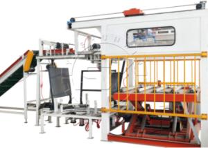 High position manipulator palletizing machine