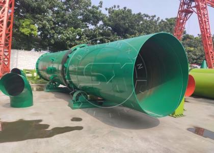 rotating drum fertilizer cooling equipment