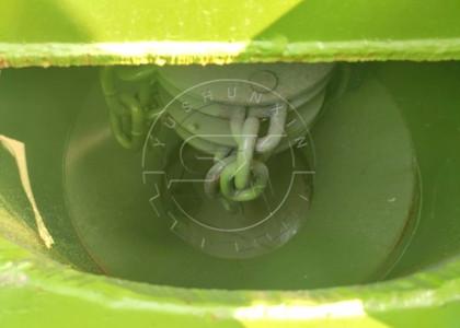 the crushing chain of chain type fertilizer crusher