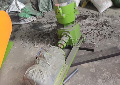 the motor of flat die granulator