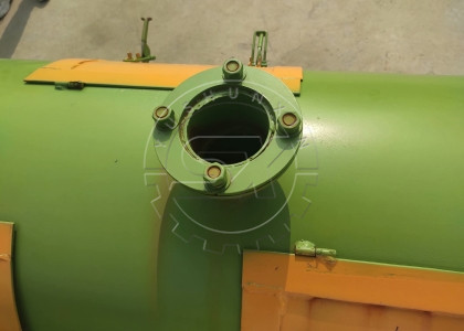 vent of new type organic fertilizer granulating machine