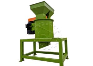 vertical fertilizer crusher