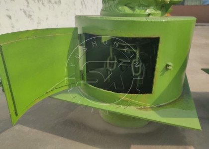 visible window of chain type fertilizer crusher