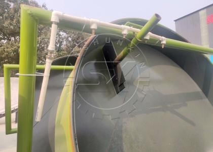 spray system of ShunXin disk granulator