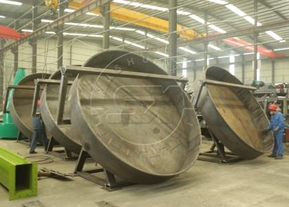 Pan Type Fertilizer Pelletizing Machine