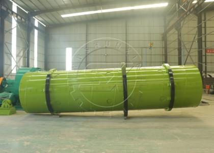Rotary Drum Fertilizer Granulating Machine