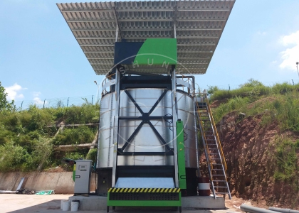 Cow Manure Fermentation Tank
