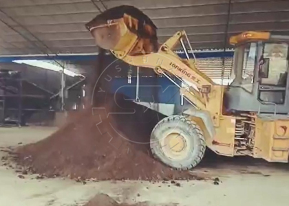 Small Forklift Type Compost Turner